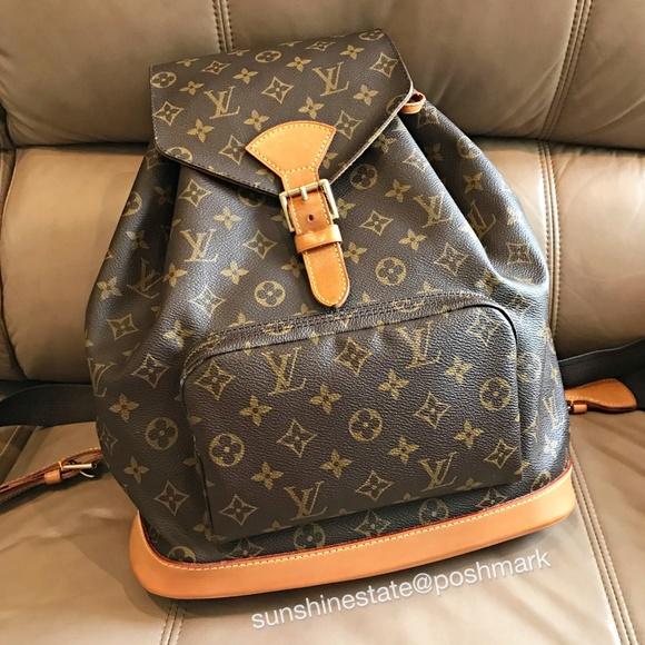 0d78e694db6f Louis Vuitton Handbags - Louis Vuitton Monogram Montsouris GM Backpack bag